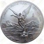 1996 Mexico 1 oz .999 fine silver Libertad