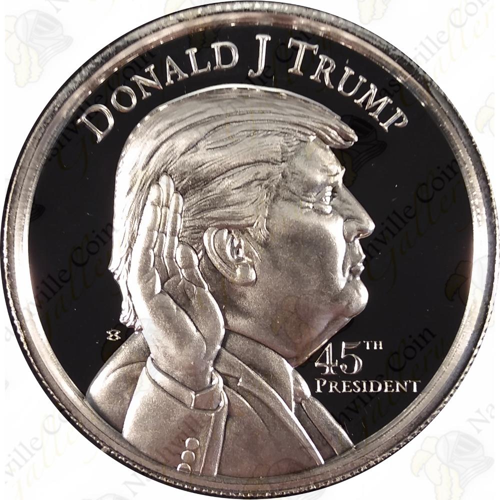 1 oz Silver Donald Trump Rounds .999 Fine Pure Silver Bullion Coin