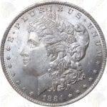 Pre-1921 Morgan Silver Dollar -- Uncirculated