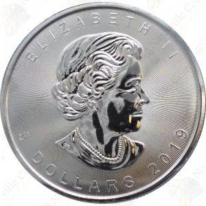 2019 Canada 1 oz .9999 Fine Silver Maple Leaf