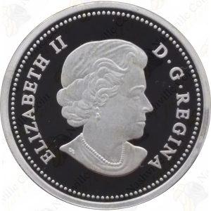"""2014 Canada Bison Series -- """"The Fight"""" -- 1 oz .9999 fine silver"""