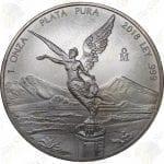 2018 Mexico 1 oz .999 fine silver Libertad