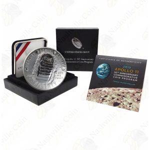 2019 Apollo 11 1 oz .999 fine commemorative silver dollar