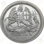 2014 Isle of Man 1 oz .999 fine silver Angel