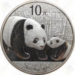 2011 China 1 oz .999 fine silver Panda - Uncirculated (in capsule)