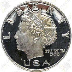 1999 NORFED 1 oz .999 fine silver round