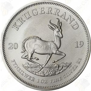 2019 South Africa 1 oz Silver Krugerrand