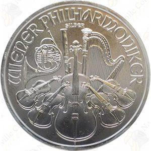 2018 Austria 1 oz silver Philharmonic