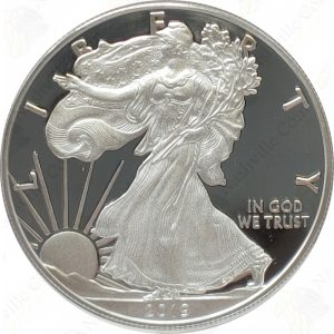 "2019-W ""Congratulations!"" 1 oz .999 fine silver Proof American Eagle"