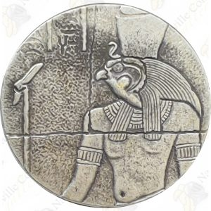 "Scottsdale Mint ""Egyptian Relic"" Series 2 oz .999 fine silver Horus"
