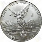 2012 Mexico 1 oz .999 fine silver Libertad