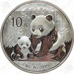 2012 China 1 oz .999 fine silver Panda - Uncirculated (in capsule)