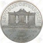 2020 Austria 1 oz silver Philharmonic