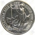2013 Great Britain 1 oz Silver Britannia