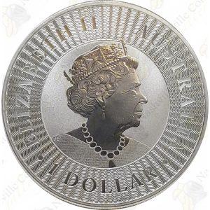 2019 Australia 1 oz .9999 fine silver Kangaroo