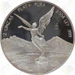 2004 Mexico 2 oz Proof Silver Libertad