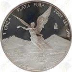 2009 Mexico 1 oz Proof Silver Libertad