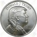 MAGA! DONALD TRUMP 1 oz .999 fine silver round -- SKU # 20121