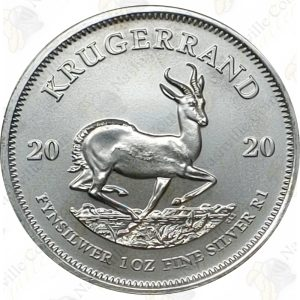 2020 South Africa 1 oz Silver Krugerrand