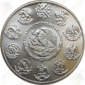 2009 Mexico 1 oz .999 fine silver Libertad