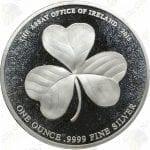 2015 Ireland 1 oz .9999 fine silver Shamrock