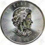 2021 Canada $5 1 oz silver Maple Leaf -- Uncirculated
