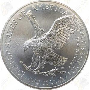 2021 1 oz American Silver Eagle (Type 2)
