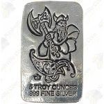 "Monarch Precious Metals ""Viking"" Series 5 oz silver bar -- Battle Axe"